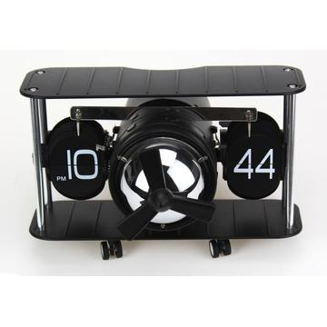 Cool Flip Fighter Plane Mode Flip Clock