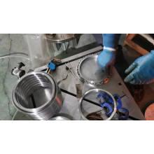 RB9016UUCC0 besting selling p5 industrial robot arm robot cross roller bearing