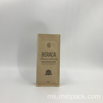 Kraft Paper Packaging Bag dengan Valve