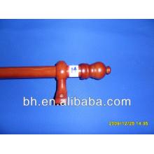 D28mm environmental wooden curtain rod head,wooden curtain holder,white wooden curtain rods
