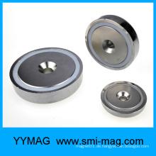 Magnetische Montage Senkkopf Loch Pot Magnet