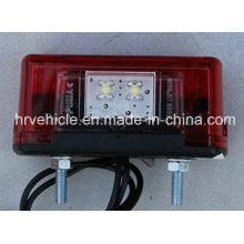 Luz de matrícula de LED para caminhão pesado veículo