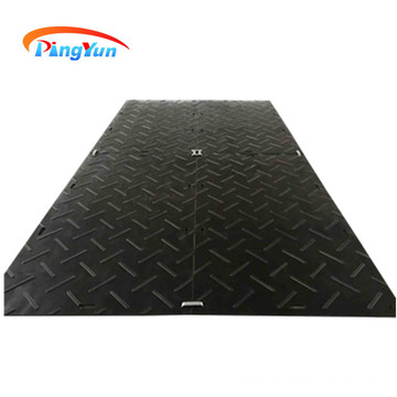tapis de route de construction HDPE durable et résistant