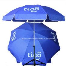 Impression de logo 48 pouces Grande parapluie de plage