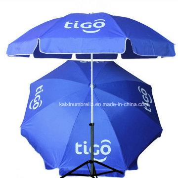 Печать логотипа 48 дюймов Big Beach Umbrella