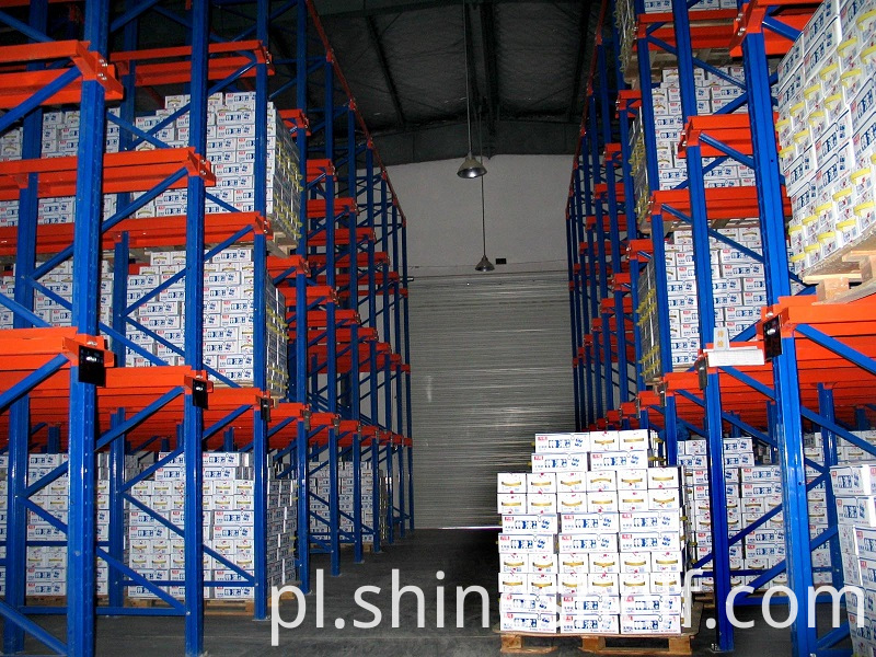 Drive in Pallet Racking for Beverage Storage
