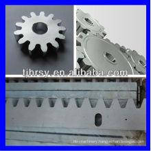 Steel zinc plated M6 gear rack 40*15*1000mm