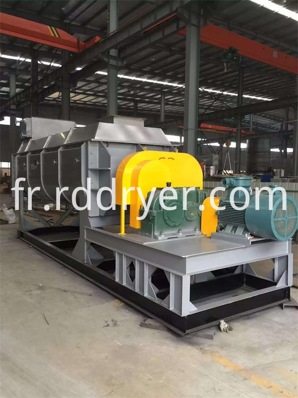 Paddle Dryer Machine for Pigments Slurry with Jacket