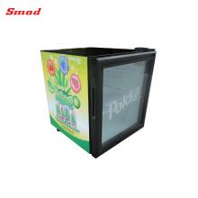 Mini réfrigérateur d'affichage de réfrigérateur de bière de réfrigérateur de porte d'affichage