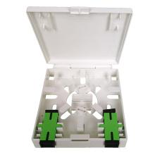 Panel de enchufe de fibra óptica FTTH Box de 2 puertos