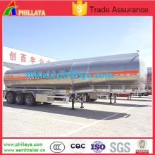 Air Suspension Aluminum Fuel Oil Tanker Semi Trailer for Truck