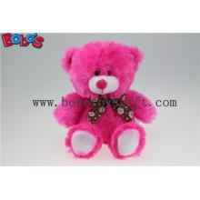 20 centímetros de lábios rosa quente brinquedo de urso de pelúcia como Valentine Gift Promocional