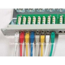 Cat6a blindado rj45 plug cat6a ethernet cabo cat6 multi-par cabo
