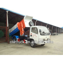 Dongfeng FRK levantador hidráulico camión de basura-4000L