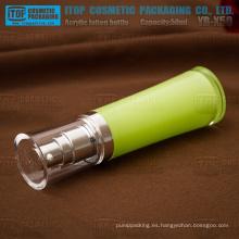YB-X50 50 ml para rentable elegante y de alta calidad Ronda cintura hermosas botellas de acrílico