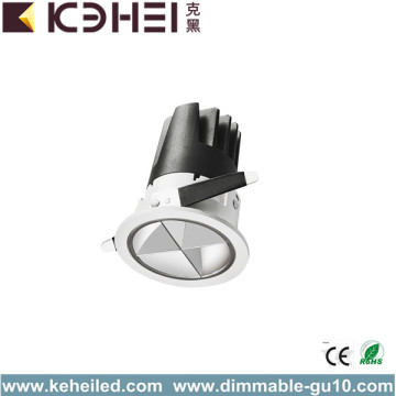 12W Cool White COB LED Spotlight 75mm de corte