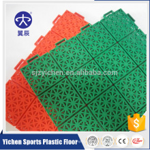 Outdoor PP sports flooring portable tennis court interlocking tiles