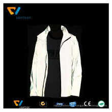 windbreak jacket reflective wind-jacket for man / wholesale high visibility safety reflective jacket