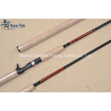 Superior Quality Hand Made Carbon Bait Casting Fishing Rod
