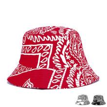 Мода Печатная Хлопок Twill Sun Visor Bucket Hat (YKY3208)