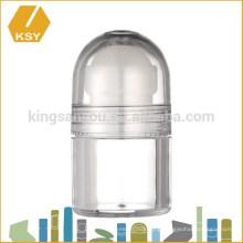 Cream packaging empty plastic acrylic jar bamboo cosmetic jars