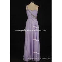 Un hombro largo apretado vestidos de baile Lado lateral sexy abierta detrás de color rosa y negro Prom Dresses