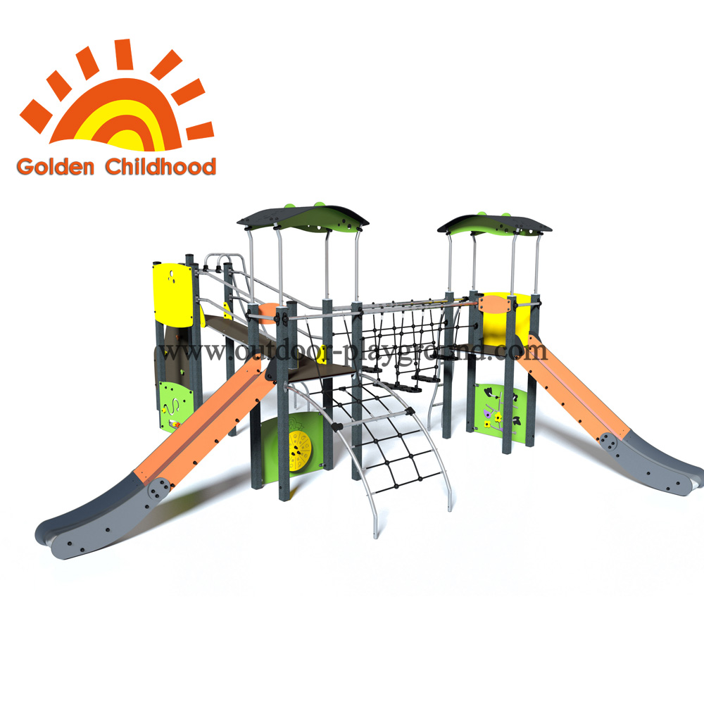 Climbing Net Tower Outdoor Playground Equipment For Children