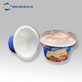 Conteneur de tasse de pudding d'impression personnalisée avec couvercle
