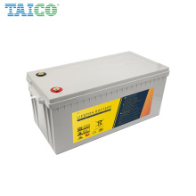 Factory Wholesale Solar Electric House Boat 12 Volt 200Ah Yacht Battery Lifepo4