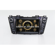 """8""""car dvd player,factory directly !Quad core,GPS,radio,bluetooth for Mazda 5 2012"""
