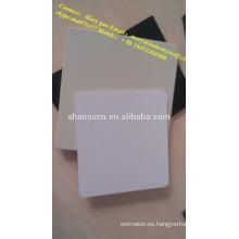 Tablero de espuma extruido de alta densidad y alta calidad para pvc / láminas de plexiglás / materiales para hacer zapatillas / láminas de policarbonato