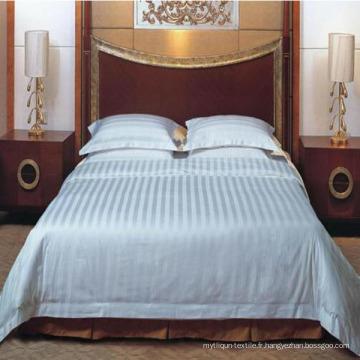 100% drap de coton pour la literie de l'hôtel (DPF201602)