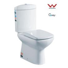 Washdown de dos piezas WC / marca de agua estándar (CVT3882)