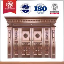 Großhandel preiswerteste Preis Kupfer Eingangstür Design