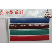 Blau, rot, grün, Rolltreppe Gummi Handlauf Gürtel