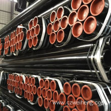DIN EN API 5L SSAW/HSAW/ERW High tensile strength steel erw pipe and tube for Oil and Gas