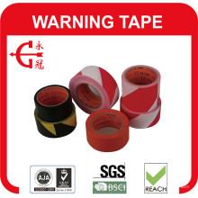 Ruban d'avertissement PVC noir blanc