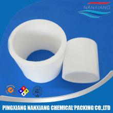 Plastic random tower packing Rasching rings for water treatment