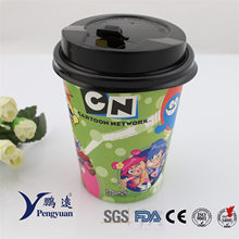 Disposable Wholesale Coffee Beverage Drinking Paper Coffee Cup