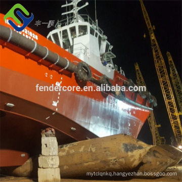 Strong bearing capacity ISO standard marine airbags for ship launching and hauling out,heavy lifting and ship salavage