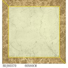Azulejos elegantes de tapete de porcelana com 600X600mm (BDJ60370)