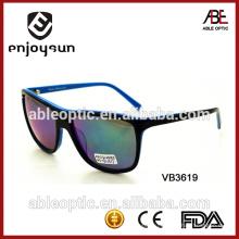 Модные пользовательские квадратные солнцезащитные очки с бесплатной оптовой продажей Alibaba