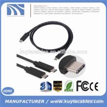 2015 Новое прибытие 1M True USB 3.1 Type C между мужчинами кабель для Nokia N1