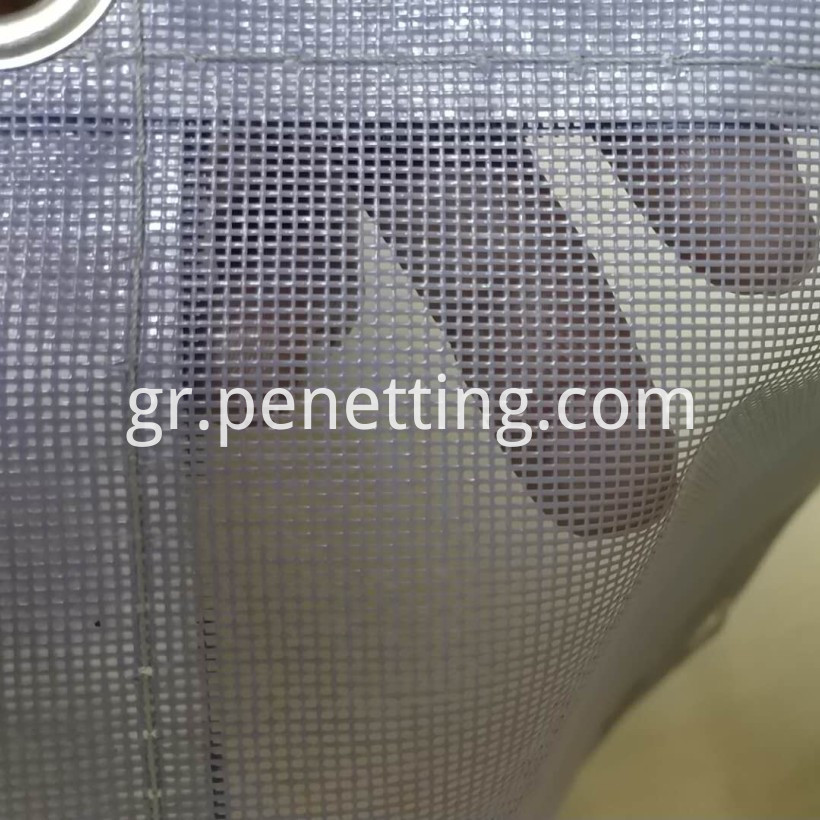 pvc safety net scaffold net