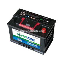 batterie de calcium sans entretien batterie 12v l2-400 auto