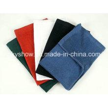 Toalla de algodón de Color liso (SST079)