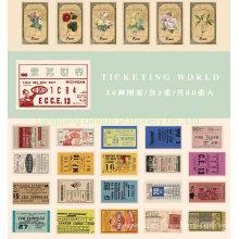 Ticketing World Mini Box Sticker of 30 Patterns
