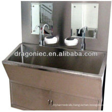 DW-BE001 TWO-station oval plastic sink