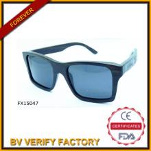 Alibaba-Handel-Qualitätssicherung-Platz Holzsonnenbrille (FX15047)