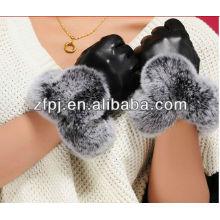 Mejores guantes de cuero cómodos de la piel de los ciervos de la venta
